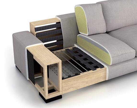 Como tapizar un sofa viejo free sof de diseo simil piel - Tapizar un sofa de piel ...