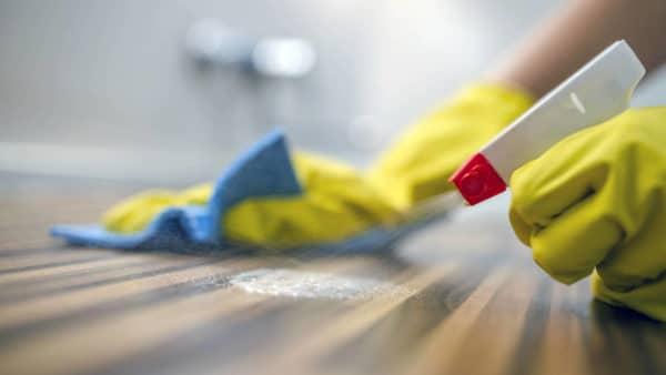 limpiar y deseinfectar